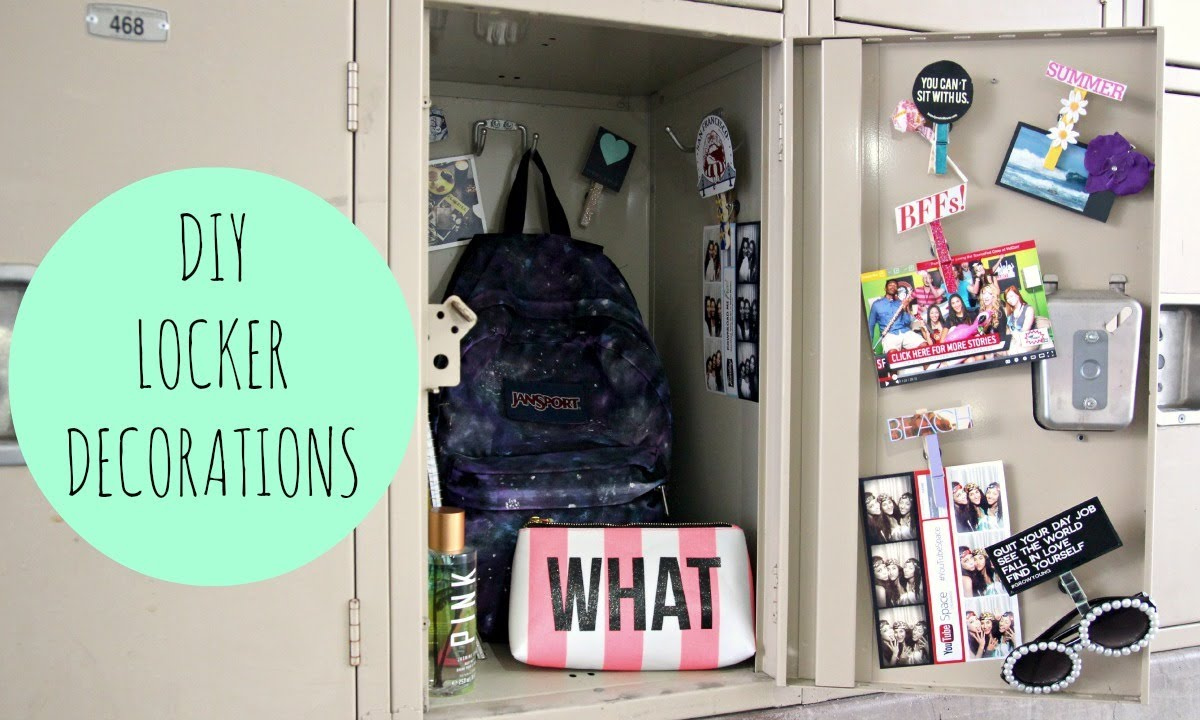 DIY Locker Decor