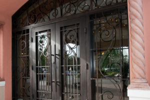 Decorative Iron Door and Home Décor