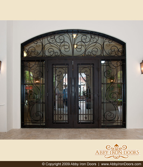 Depending on your budget and preference you have a wide variety of steel and iron doors from which you can choose for your home. & Decorative Iron Door and Home Décor u2013 Sassy Style Redesign