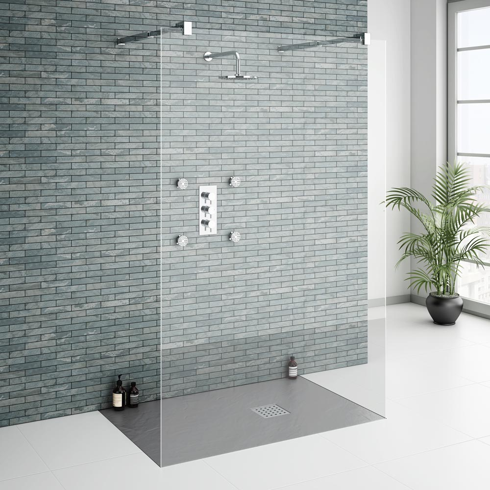 Important Considerations When Buying a Slate Effect Shower Tray ...