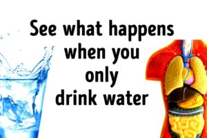 What if You Only Drank Water