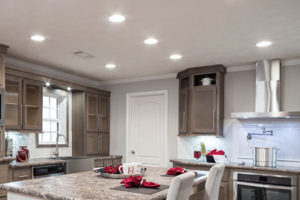Kitchen Lighting Remodel Effect