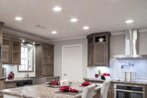 Kitchen Lighting Remodel Effect